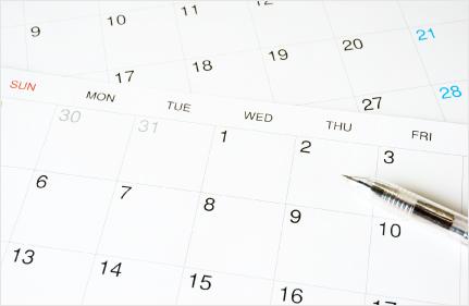 ご訪問の日時と場所について、お客様のご都合をお教えください!