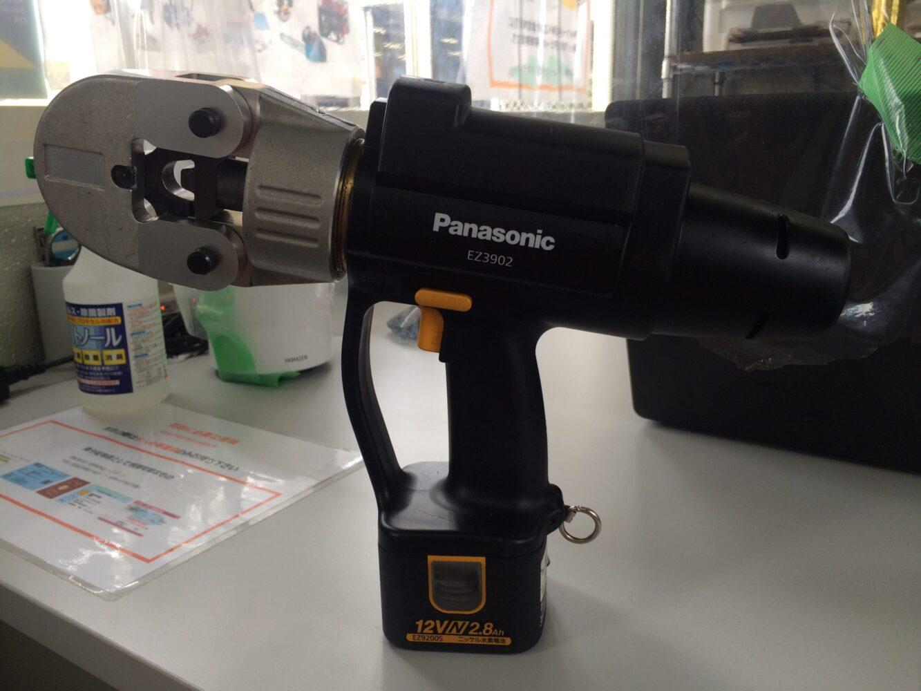 パナソニック 充電圧着器